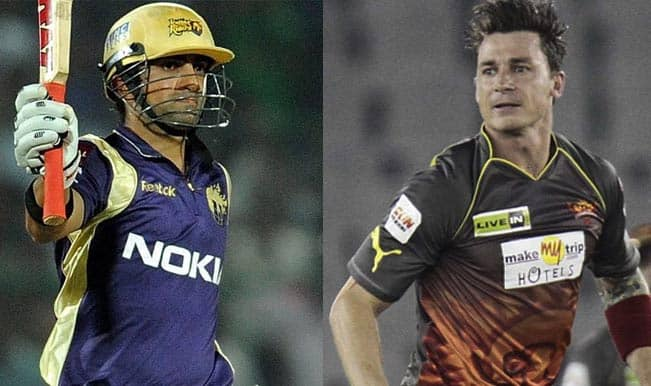 IPL 2014: Kolkata Knight Riders (KKR) vs Sunrisers Hyderabad (SRH)