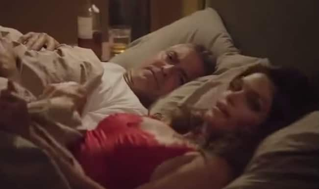 George Clooney in bed with Cindy Crawford on his birthday? Watch video!