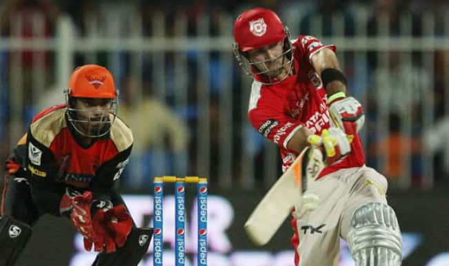 IPl 2014, KXIP vs CSK: Maxwell, Miller and Bailey steer KXIP to 231/4