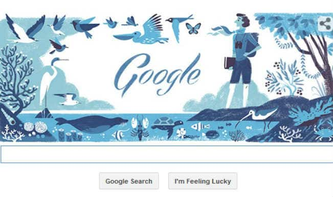 Google doodle celebrates 107th anniversary of the birth of Rachel Carson, author of 'Silent Spring'