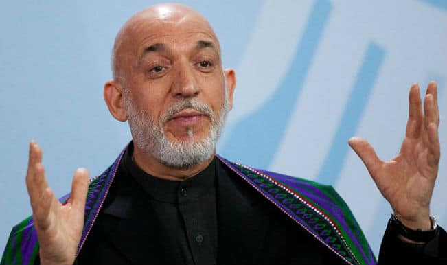 Hamid Karzai arrives in Delhi for Narendra Modi's oath ceremony