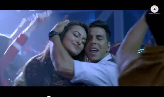 Holiday song Blame the Night: Sonakshi Sinha and Akshay Kumar's new club number!