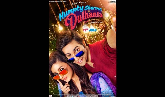 'Humpty Sharma Ki Dulhania' official poster: Check it out!