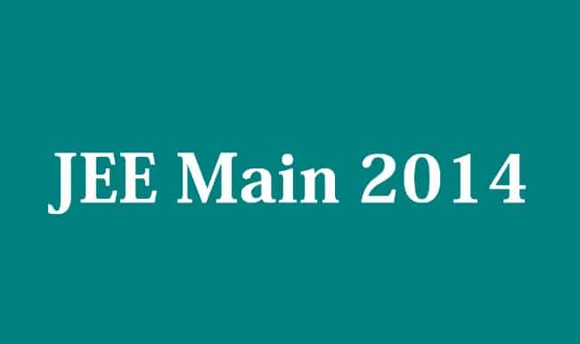 All you need to know about JEE (Main) 2014