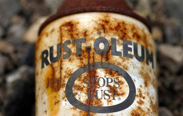 It is just sad when the anti rust can catches rust but shows how 'good' the brand really is