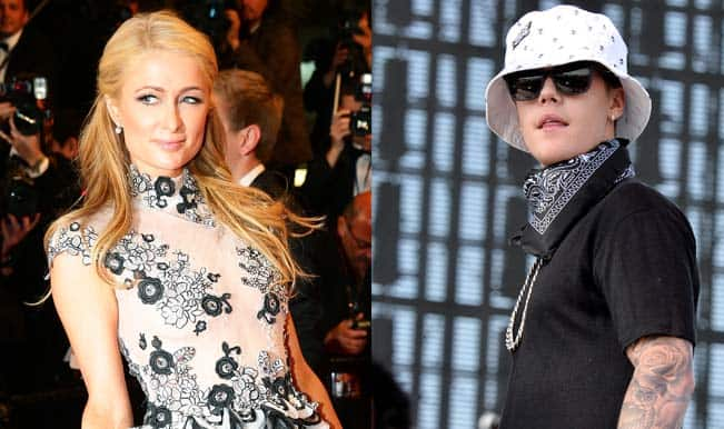 Paris Hilton flirted with Justin Bieber?