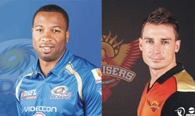 IPL 2014, Sunrisers Hyderabad (SRH) vs Mumbai Indians (MI): Dale Steyn vs Kieron Pollard