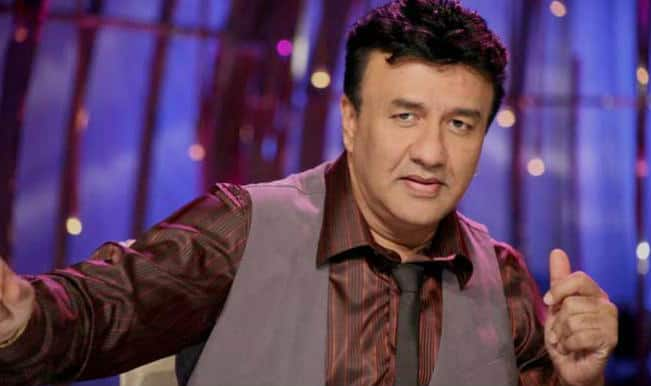 Now Anu Malik does the towel dance!