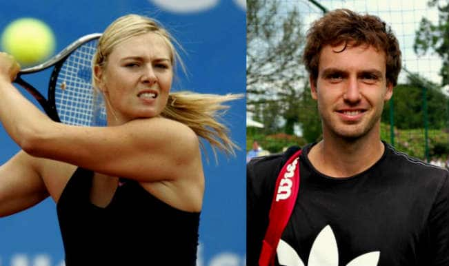 Maria Sharapova and Ernests Gulbis