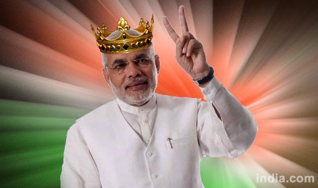Lok Sabha Elections 2014 Results: Narendra Modi tweets his 'victory'!