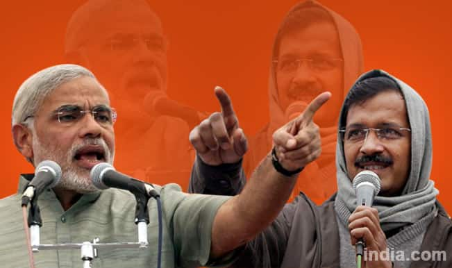 Is she replacing Narendra Modi in Gujarat