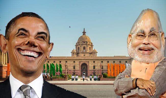 Breaking: Barack Obama spotted at Narendra Modi swearing-in ceremony!