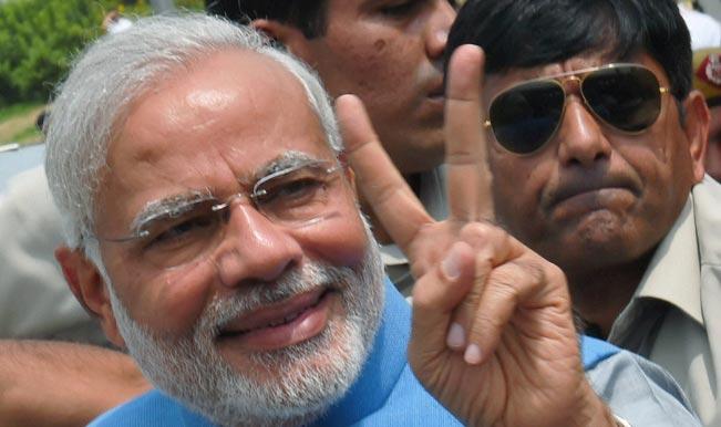 Narendra Modi in Varanasi: Modi, Rajnath Singh attend Ganga Aarti