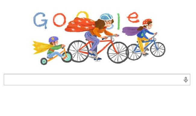 Happy Mother's Day Google Doodle celebrates the undying spirit of motherhood