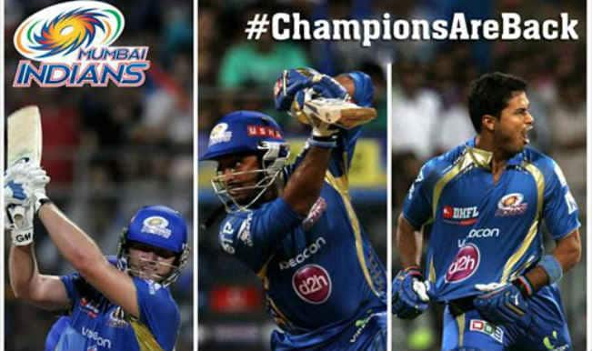 Mumbai Indians – From Dust to Stardust in IPL 7