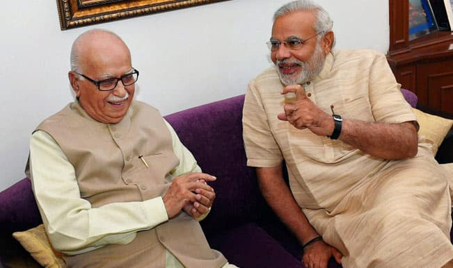 L K Advani to propose Narendra Modi's name as BJP group leader