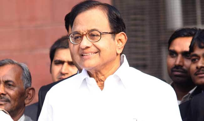 India's GDP growth may rise to 6 percent in 2014-15: Chidambaram