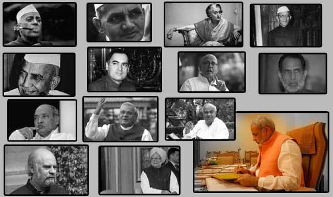 The legacy of the 13 Prime Ministers of India!