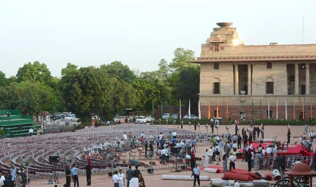 Preparations-for-swearing-in-ceremony-of-BJP-parliamentary-party-leader-Narendra-Modi-as-prime-minist
