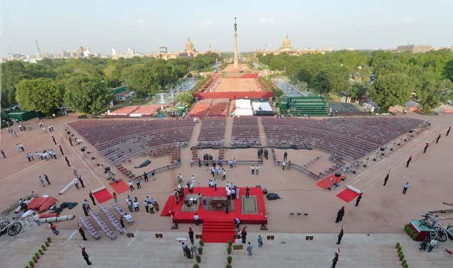 Rashtrapati Bhavan all decked up for Narendra Modi's swearing-in ceremony
