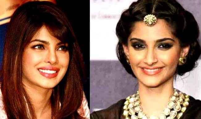 Priyanka Chopra and Sonam Kapoor
