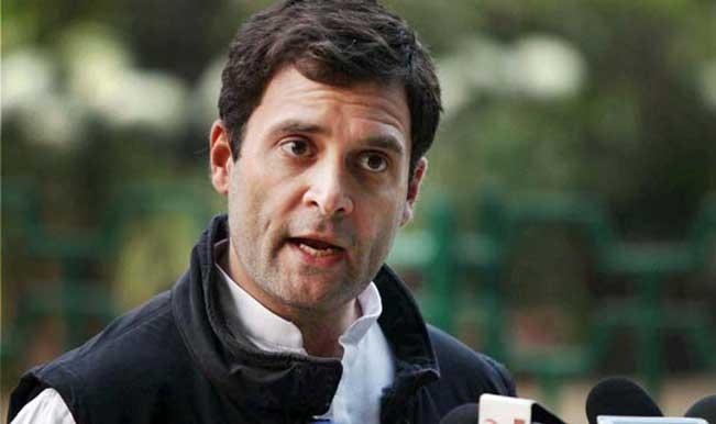 Rahul Gandhi storms Varanasi, holds roadshow, rally