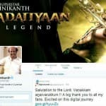 Rajinikanth's Twitter debut: Over 184,000 followers on day one