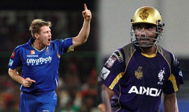 James Faulkner vs Robin Uthappa