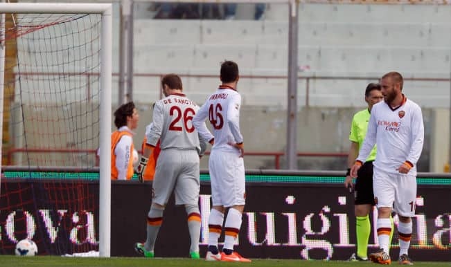 Juventus secure Serie A title as Roma crash at Catania