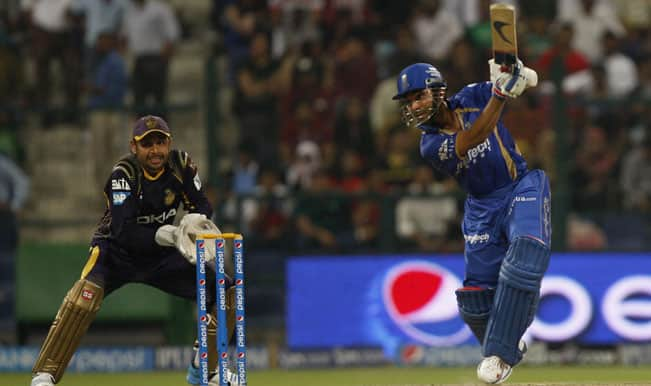 IPL 2014, RR vs KKR: Combined team effort from the batsmen leads Rajasthan Royals to 170