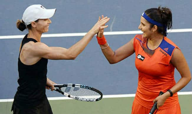 Sania Mirza and Cara Black