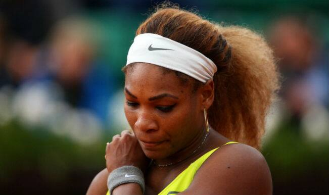 Defending Champion Serena Williams makes shocking exit in second round of French Open 2014