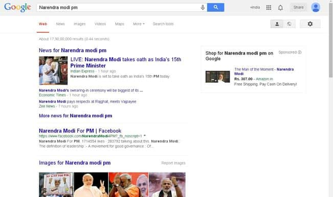 Narendra Modi – The newly elected Prime Minister of India is on sale!