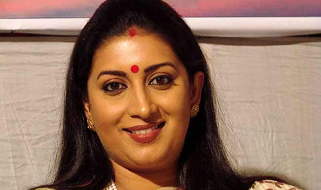 Smriti Irani's 'Baa' sends blessings for her political journey