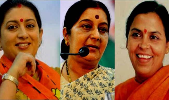 Smriti Irani Sushma Swaraj Uma Bharti