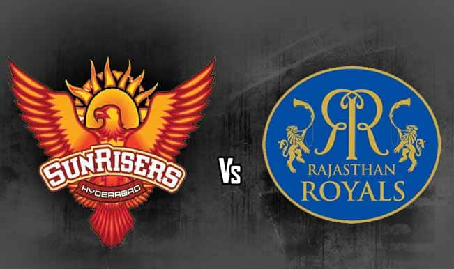 IPL 2014: Rajasthan Royals (RR) vs Sunrisers Hyderabad (SRH)