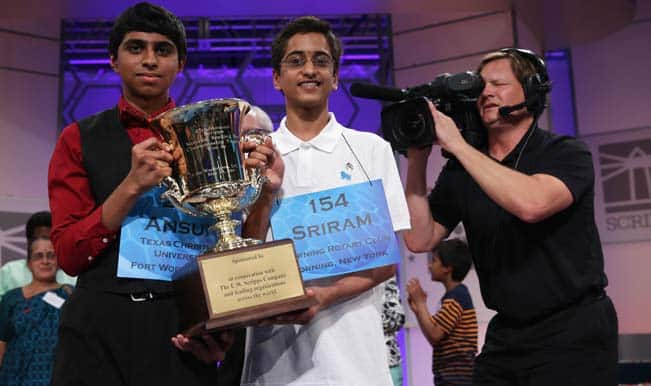 Indian-Americans spell history, are co-champions in US Spelling Bee