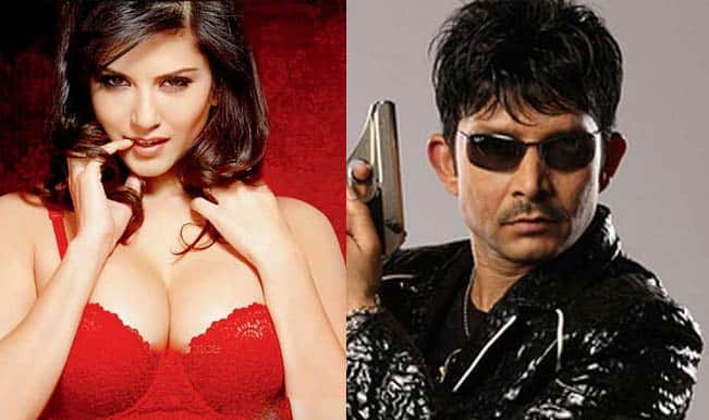 Sunny Leone sues Kamaal R Khan for defaming her on twitter