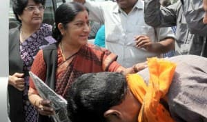 Lok Sabha Election 2014 Results: Sushma Swaraj leading in Vidisha