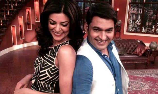 sushmita sen on comedy nights with kapil - colors