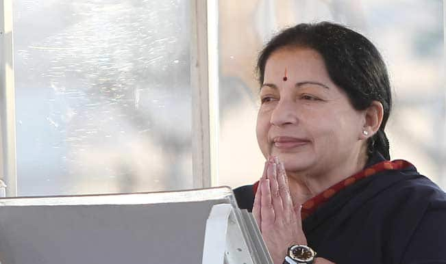 Jayalalithaa refuses to comment on post-poll alliance