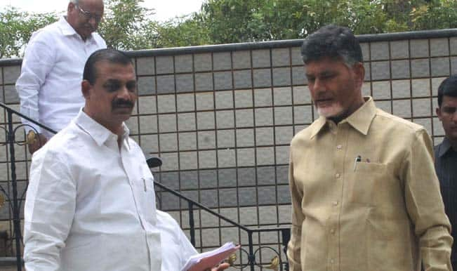 Yuvajana, Shramika, Rythu Congress Members of Parliament joins Telugu Desam Party