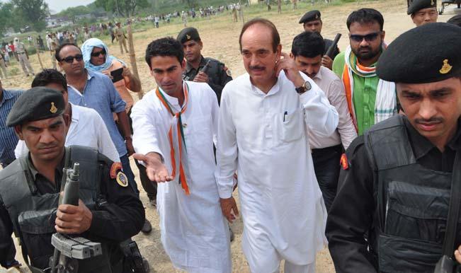 Lok Sabha Elections 2014 Live -NC trails in all three Lok Sabha seats; Azad leading