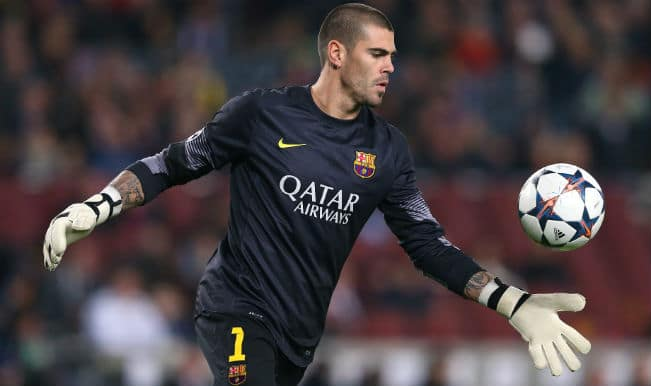 Victor Valdes says farewell to Barcelona after 'cruel' year