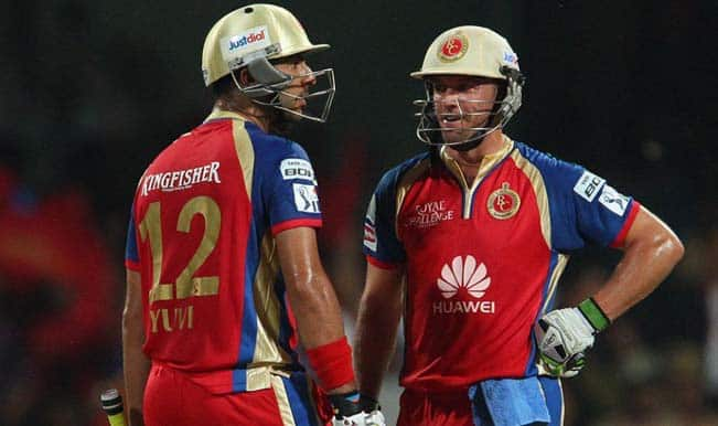 IPL 2014, RCB vs CSK: Kohli's fifty helps Royal Challengers Bangalore to put 154 on board