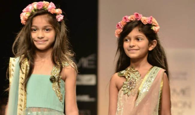 c482bf75dc4 Children  s fashion show at Lakme Fashion Week