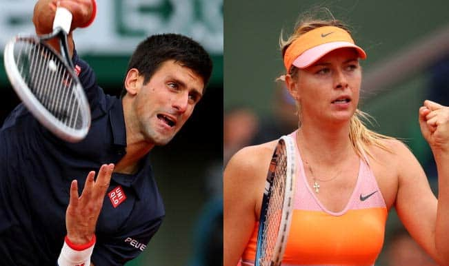 French Open 2014 Results: Maria Sharapova, Novak Djokovic advance to semis