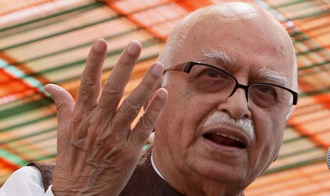 L K Advani meets Yashwant Sinha in jail