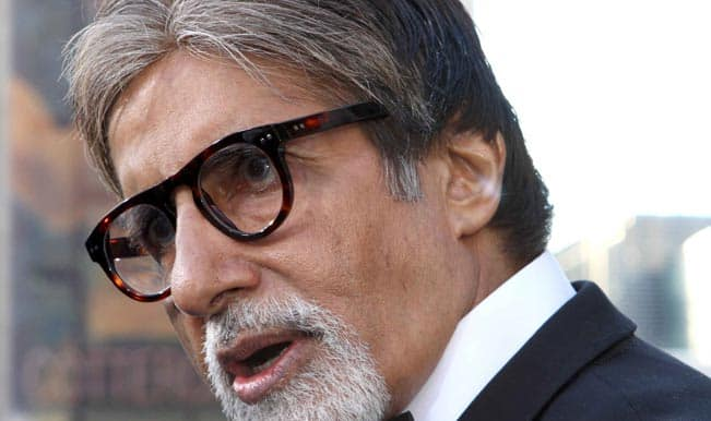 Big B unveils poster of his first fiction TV series 'Yudh'