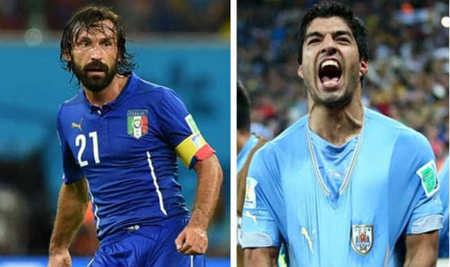 FIFA World Cup 2014, Italy vs Uruguay: Key players to watch